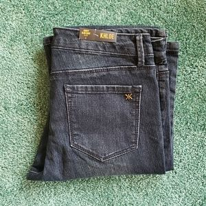 NWT Kardashian Khloe Curvy Slim Boot Cut Jeans 8